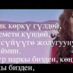 Юлия Руцкая & Нурак Абдрахманов - Аппак сүйүү тексти 1